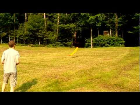 Flying wing hand-launch RC aerobatics - Thor by Küstenflieger