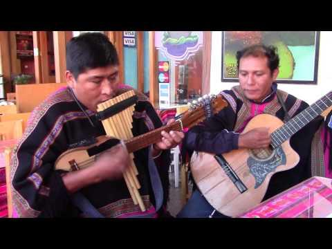 Peruvian street music in Arequipa, Peru