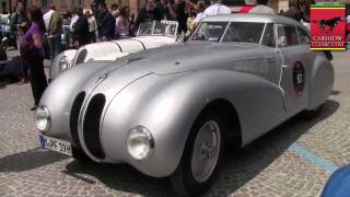 BMW 328 Kamm Coupe - 1940 Mille Miglia Videos