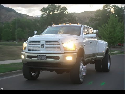 Colorado lifted scene! 3500 RAM Dually on 24s American ...