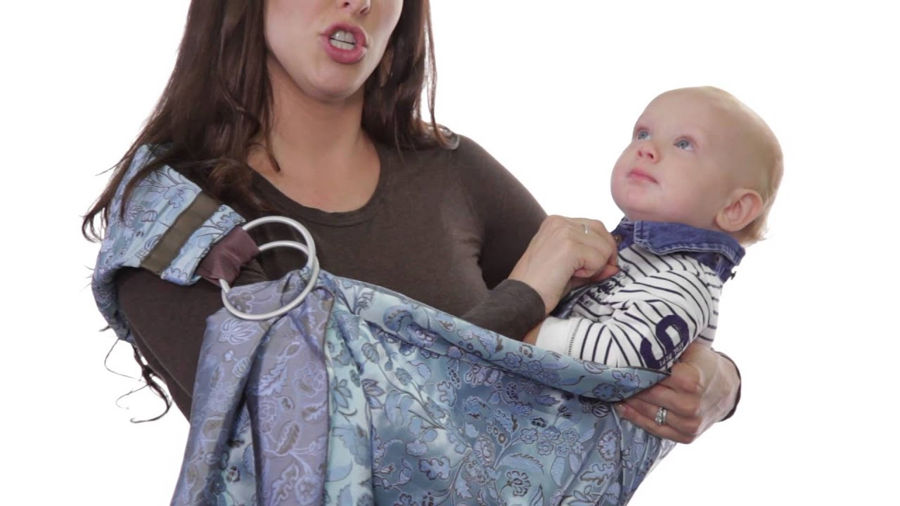 729f5ca046b How to Hip Carry in a Ring Sling - YouTube