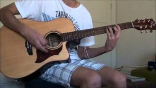 Bullet For My Valentine - Say Goodnight (Acoustic) (guitar cover)