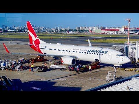 My sweeet uz flight to New Zealand with JitConnict - Qantas 737 Economy - Sydney to Christchurch