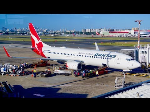 Qantas Economy Class Review Across The Tasman - Boeing 737 - Sydney To Christchurch