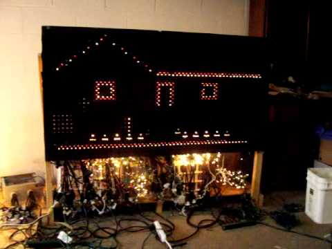 our light board for programming christmas lights part 1 youtube