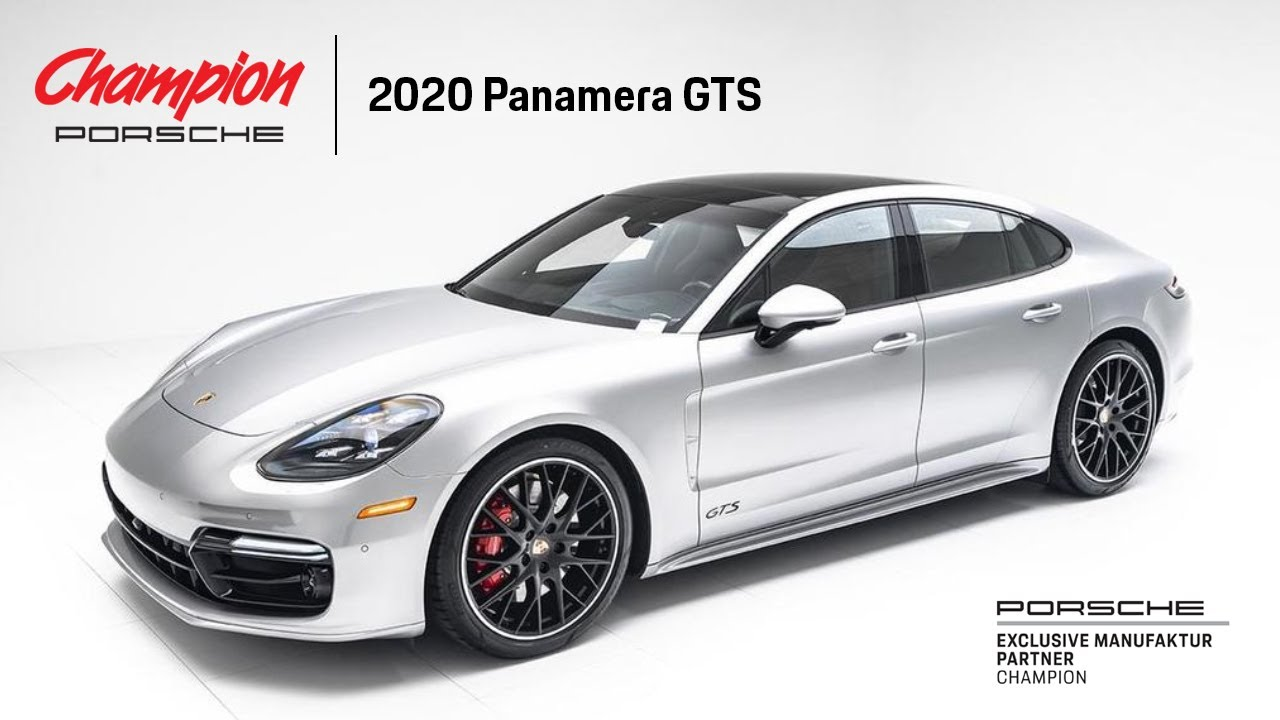 Champion Porsche Exclusive Manufaktur Panamera GTS GT Silver Metallic