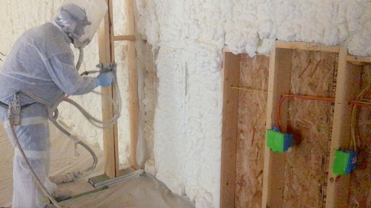 wiring my shop and spray foam insulation youtube rh youtube com Shop MYT Shop MYT
