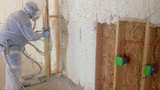 Wiring My Shop and Spray Foam Insulation