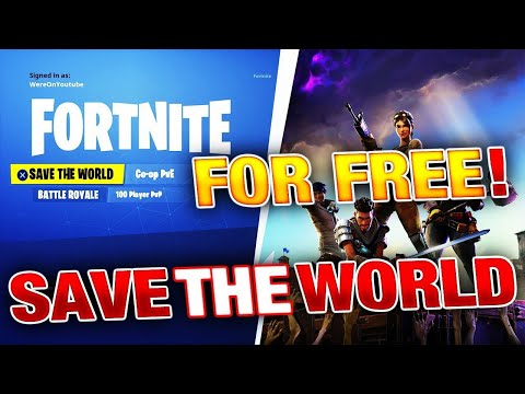 (WORKING NOW) How To Get Save The World For Absolute Free! *WORKING 2018  RIGHT NOW!*