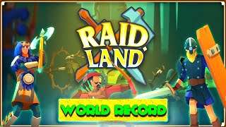 RAID LAND - WORLD RECORD (15 GOLD) - EPIC BATTLE (VICTORY)