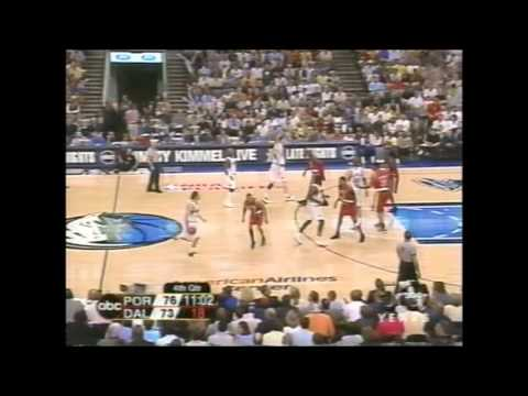 2003 Playoffs Portland@Dallas Game 7 HIGHLIGHTS