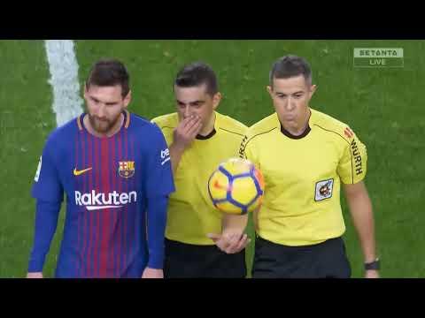 Valencia vs Barcelona 1-1 Highlights Goals 26 November 2017