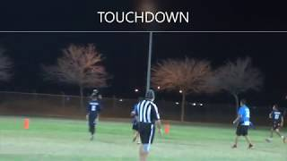 Vaqueros Flag Football: Winter League 2/17/2020 - Game 1 Highlights vs. Average Joe's