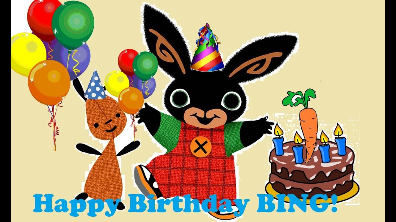 Bing Bunny Birthday Party