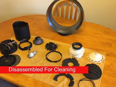 Dyson Cool Fan(Disassembled For Cleaning)