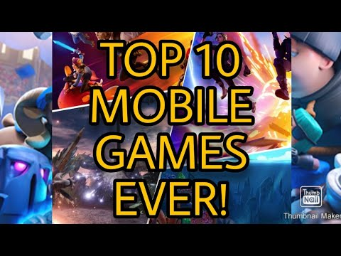 The Best Mobile Games Of All Time | Top 10 Mobile Games EVER!📱