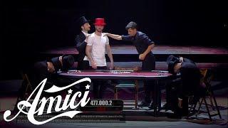 Amici 16, La Finale - Andreas - Poker