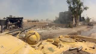 Русская армия в Сирии 2016 WAR IN SYRIA 2016 Танковый бой