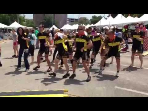 Team Diamond Offshore Drilling Celebrates at the BP MS 150 Finish Line in Austin