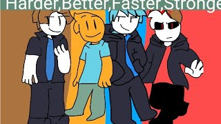 harder better faster Stronger Meme Roblox 150 sub special