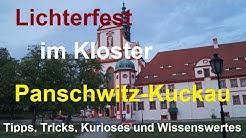 Lichterfest ✨Kloster St. Marienstern✴️ Panschwitz-Kuckau Oberlausitz Im Schein von 1000🎇✳️Lichtern