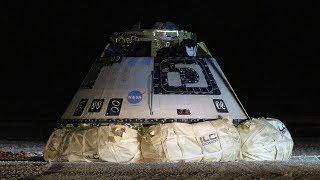 Boeing Orbital Flight Test Starliner Lands