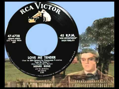 HENRI RENE ORCHESTRA & CHORUS - Love Me Tender (1956)