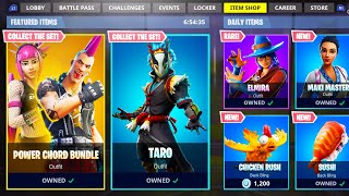 NEW ITEM SHOP SKINS in Fortnite!