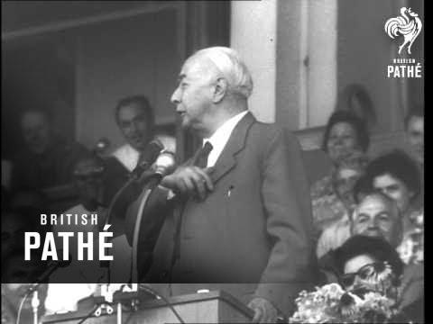 Ex-German President Heuss Dies (1963)