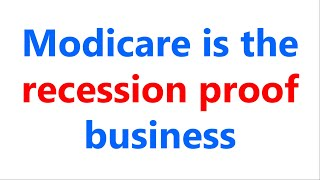 Raju D G Talk On Why To Do Modicare? & Modicare Is The Recession Proof Business. Mission2L21 Context