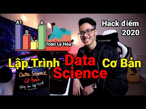 Phân tích điểm thi đại học 2020 bằng Data Science | Lập Trình Python Cơ Bản Tự Học Cho Người Mới