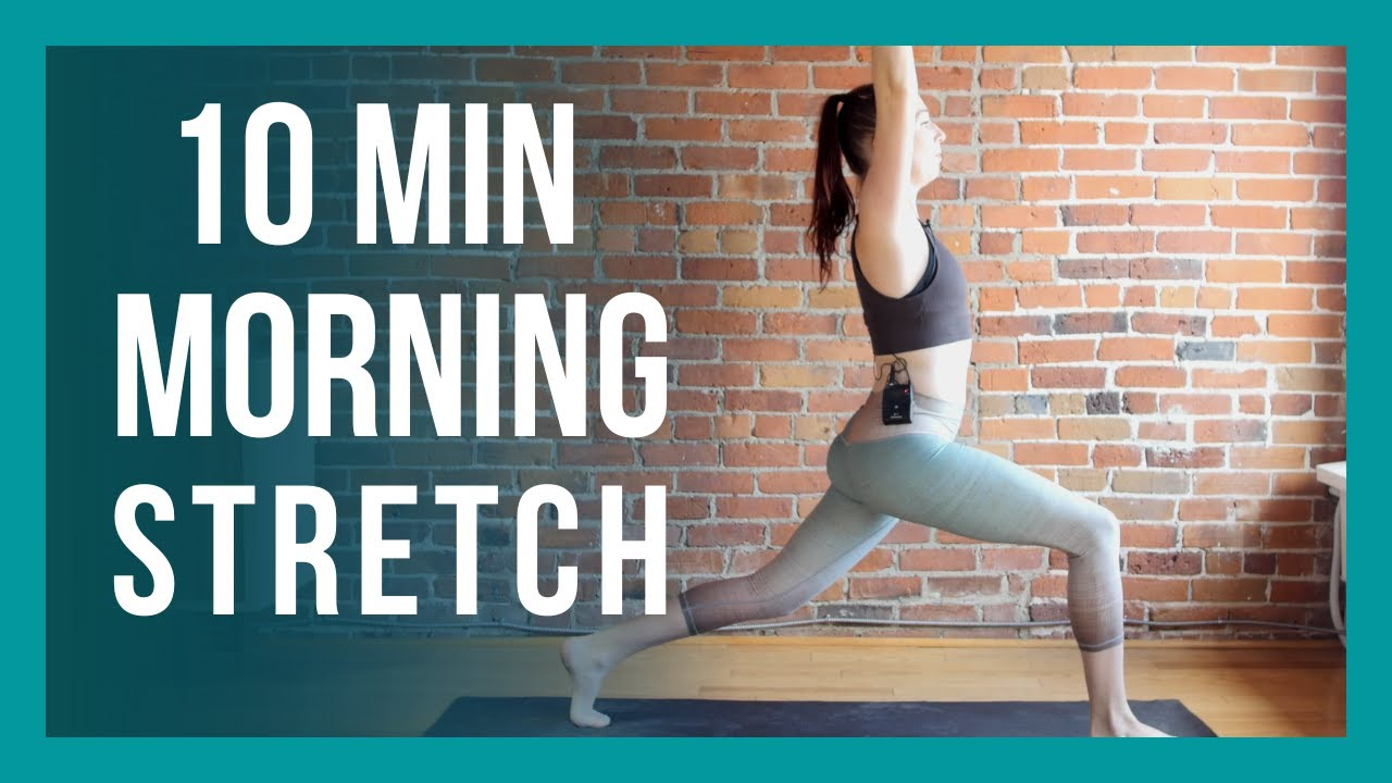 10 min Morning Yoga - Full Body Beginner Flow NO PROPS NEEDED