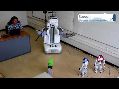 Robot PR2: Human robot interaction testbed with disambiguation