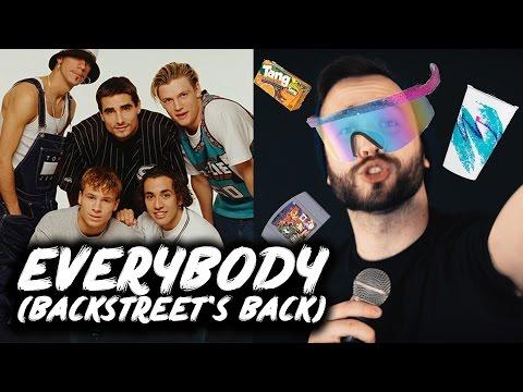 BACKSTREET BOYS - Everybody (Backstreets Back) - Keytar-Fusion-Djentcore cover