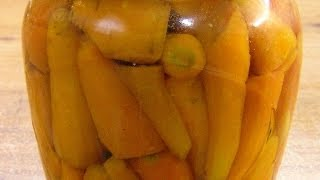 Морковь консервированная без уксуса / Canned carrots without vinegar ♡ English subtitles