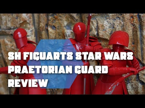 Figuarts Elite Praetorian Guard Whip Staff The Last Jedi Star Wars USA S.H