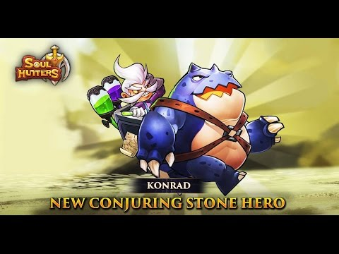 Soul Hunters Live Stream Ft NEW Hero Konrad