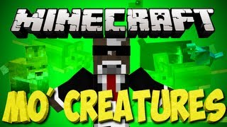 Minecraft: MO Creatures Lets Play | Pet Mule and Nightmare Horse | Ep. 62