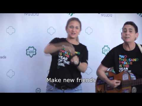 1 - Make New Friends -- Girl Scout Sing-A-Long