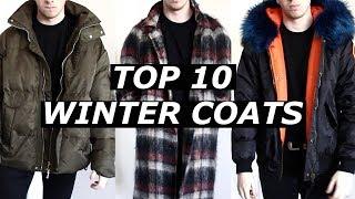 TOP 10 WINTER COATS | Haul | Gallucks