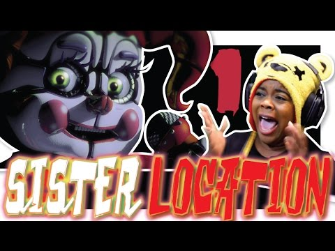 Sister Location | Part 1 | Beat Night 1 | PC Gameplay
