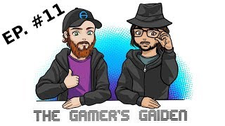 Gamer's Gaiden podcast EP: 11   Fighting Games   FPS Games