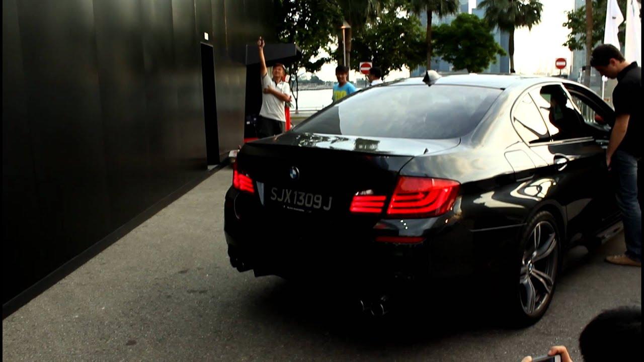 2012 BMW M5 Revving. - YouTube
