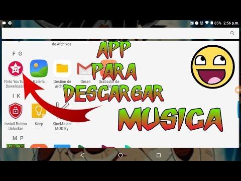 APP PARA DESCARGAR MUSICA Y VIDEOS DE MP3 Y MP4 FULL HD