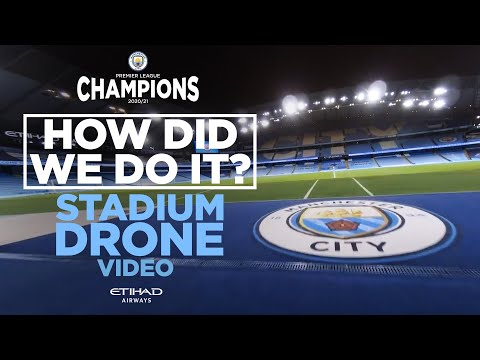 SINGLE SHOT DRONE | HOW DID WE DO IT?! | BTS ON ETIHAD PL TROPHY SHOOT