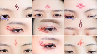 Hướng dẫn tips makeup trang điểm mắt, chu sa cosplay cổ trang Trung Quốc🇨🇳  - Nhã Di Các