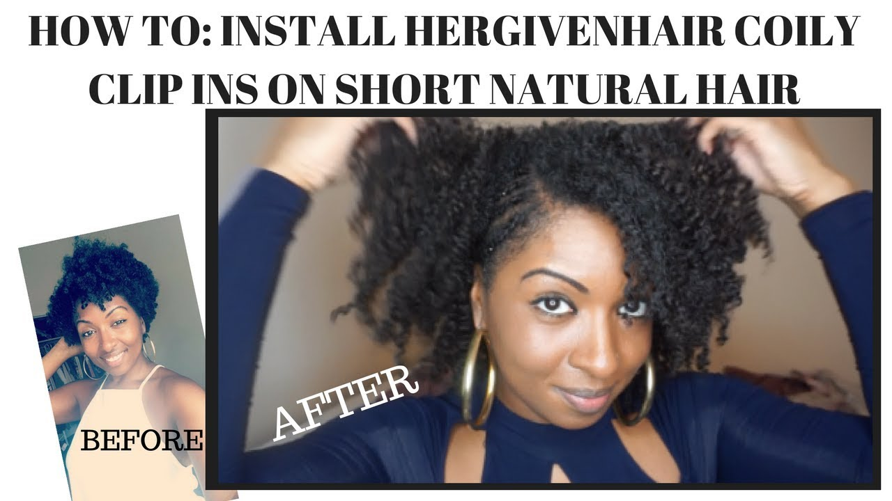 20 Easy Natural Hair Clip In Tutorials For Instant Transformation Coils And Glory