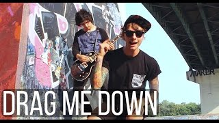 Video One Direction - Drag Me Down (Rock Cover) by Amasic download MP3, 3GP, MP4, WEBM, AVI, FLV Desember 2017