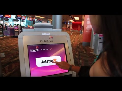 Jetstar Self-service Check-in Kiosk