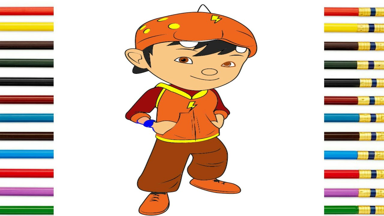 learn drawing coloring boboiboy galaxy ep 8 step by step fun for